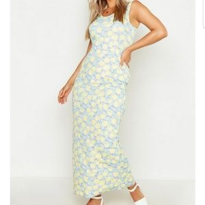 Dresses - Lemon maxi dress